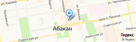 Управление Федеральной почтовой связи Республики Хакасия на карте Абакана