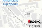Схема проезда до компании 19auto.ru в Абакане
