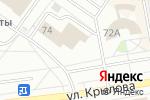 Схема проезда до компании Арбитражный суд Республики Хакасия в Абакане