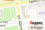 Схема проезда до компании Общественная палата Республики Хакасия в Абакане