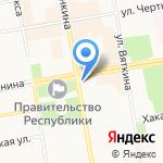 ЦИНТ Хакасии на карте Абакана