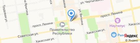 Лавка полезные продукты на карте Абакана