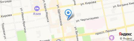 WELLA-ЛЮКС на карте Абакана