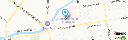 Министерство образования и науки на карте Абакана
