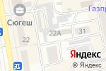 Схема проезда до компании Комплексная ДЮСШ в Абакане