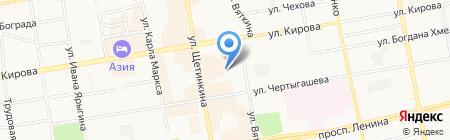 ДЮСШ по единоборствам на карте Абакана