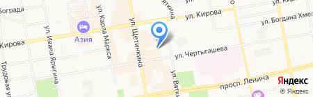 Визит-Сервис на карте Абакана