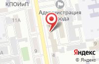 Схема проезда до компании Управление МВД России по г. Абакану в Абакане