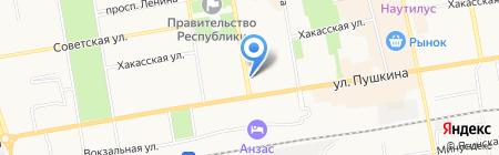 Абсолют Дом на карте Абакана