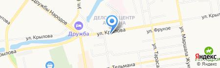 СТИС на карте Абакана