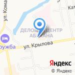 Управление Пенсионного фонда РФ г. Абакана на карте Абакана