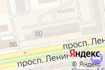 Схема проезда до компании Жалюзи Сибири в Абакане