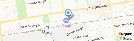 Фонд социального страхования РФ на карте Абакана