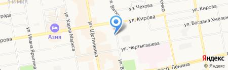 Власта-Колосок на карте Абакана