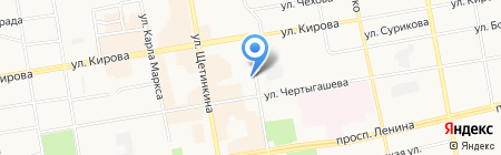 БТС-Сервис на карте Абакана