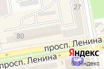 Схема проезда до компании Банкомат, Росбанк, ПАО в Абакане