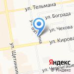 Центр удаленного доступа к электронным информационным и образовательным ресурсам Сибирского института управления на карте Абакана