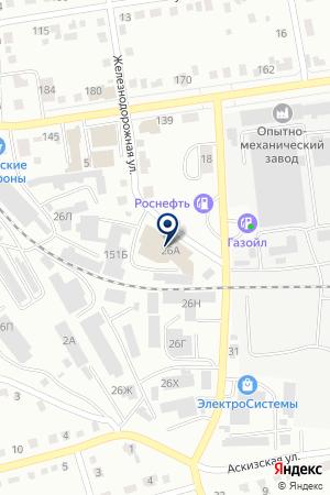 Строительный терминал на карте Абакана