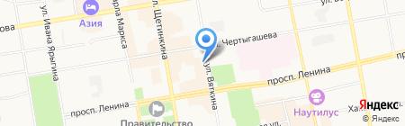 Дом Русских Сувениров ЭТНОСИБИРЬ на карте Абакана