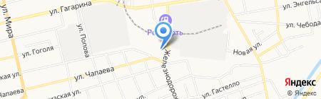 Эксперт-Авто на карте Абакана