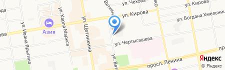 АДАМАНТ на карте Абакана