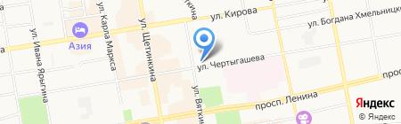 Gala Престиж на карте Абакана