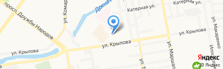 Верховный суд Республики Хакасия на карте Абакана