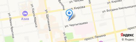 Театр праздников Елены Зубарь на карте Абакана