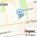 Ногтевой салон Елены Путинцевой на карте Абакана