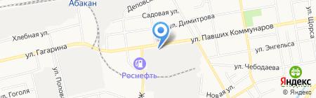 Сибирский Инжиниринговый Центр на карте Абакана