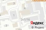 Схема проезда до компании KRISTI-бижутерия в Абакане