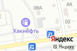 Схема проезда до компании Три звезды в Абакане