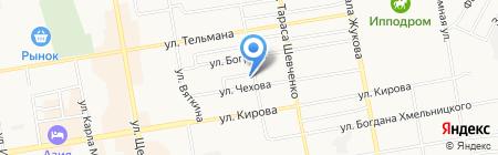 Единая Сервисная Служба Абакана на карте Абакана