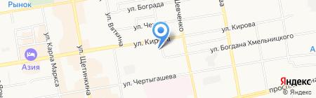 Центр спортивной подготовки сборных команд Республики Хакасия на карте Абакана