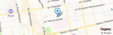 Управление Судебного департамента в Республике Хакасия на карте Абакана