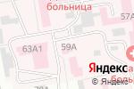 Схема проезда до компании Карпов и К в Абакане