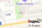 Схема проезда до компании Пушкинский в Абакане