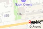 Схема проезда до компании ТОПЕНАР в Абакане