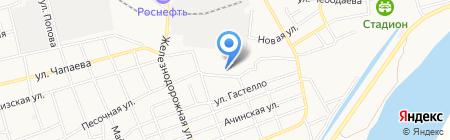 У Анатолия на карте Абакана