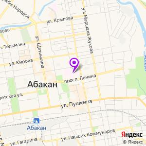 Абаканская межрайонная клиническая больница на карте