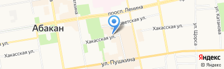 Отдел вневедомственной охраны МВД по Республике Хакасия в г. Абакане на карте Абакана