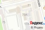 Схема проезда до компании Государственный комитет по занятости населения Республики Хакасия в Абакане
