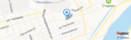 Центр авторазбора на ул. 8 Марта на карте Абакана