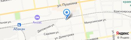 РыбКом-ЕлИСей на карте Абакана