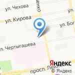 Адвокат Игольникова В.А. на карте Абакана