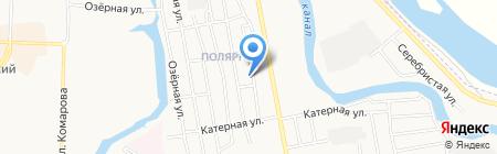 Компания по монтажу натяжных потолков на карте Абакана
