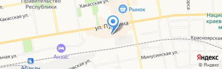 Viktoroff на карте Абакана