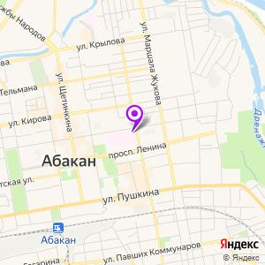 Диагностический центр Абакан на карте
