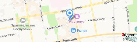 Русский Размер на карте Абакана