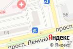 Схема проезда до компании Красный Яр в Абакане